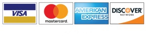 Shop Securely via Stripe using VISA, MasterCard, American Express, or Discover